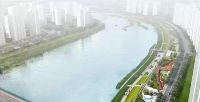 滨江公园何时开工,对岸的滨江公园都开建了