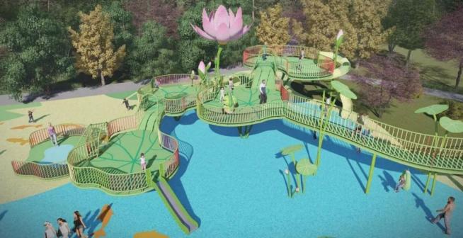 沔阳小镇·哇哦乐园全新开园 免费玩
