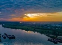 咱们仙桃人的母亲河——汉江,真的好美。仙