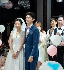 婚礼拍摄 幸福的新人