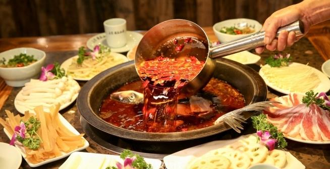 王宝器麻椒鱼周年庆 仙桃店4.8折起开吃