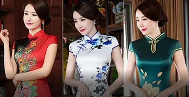 仙桃纽芬兰酒店旗袍展,杭州高档丝巾免费送