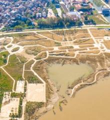 江滩公园9月最新进展