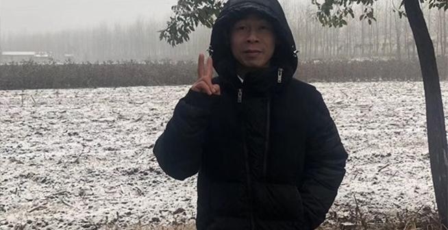仙桃的第一場雪來了!據說鄉滴已經都下白了