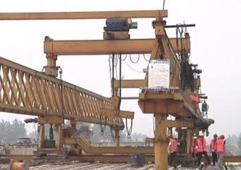 黄荆大桥预计春节前通车!仙桃重点交通工程