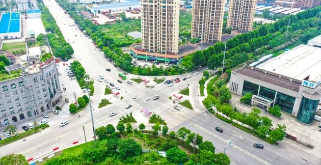 仙桃城区道路再升级 这三条大道正在施工