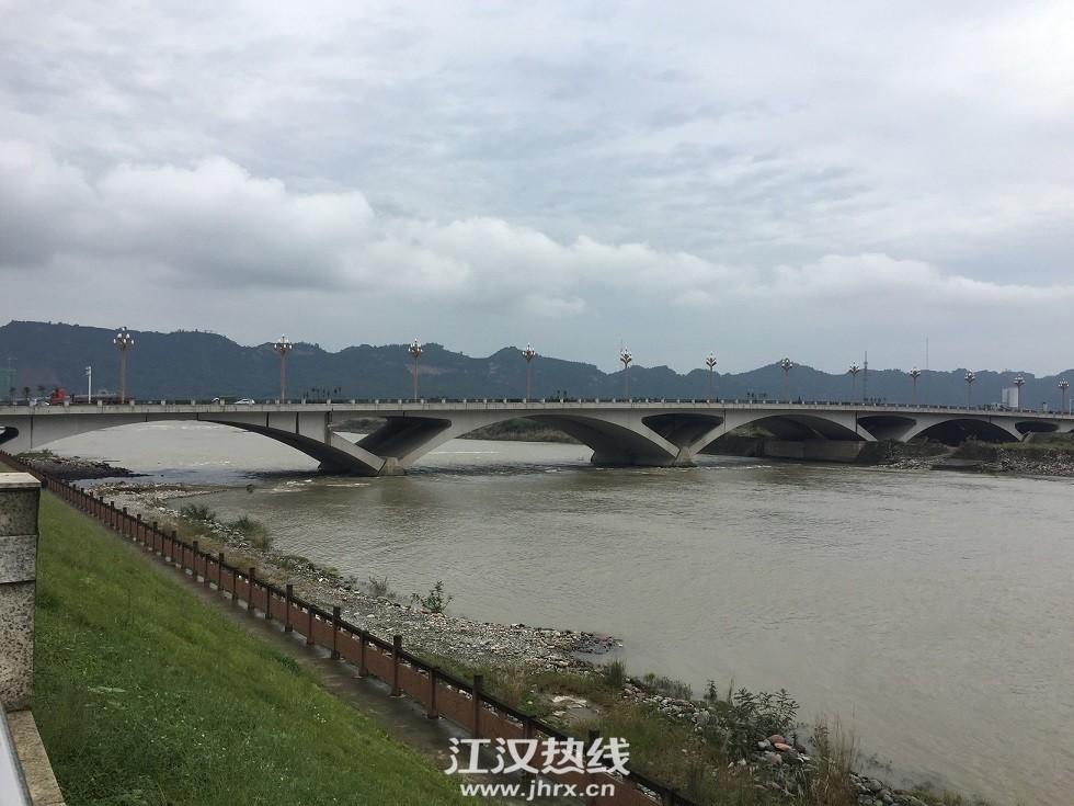 青衣江上的大桥