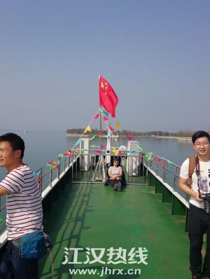 游船上的美景