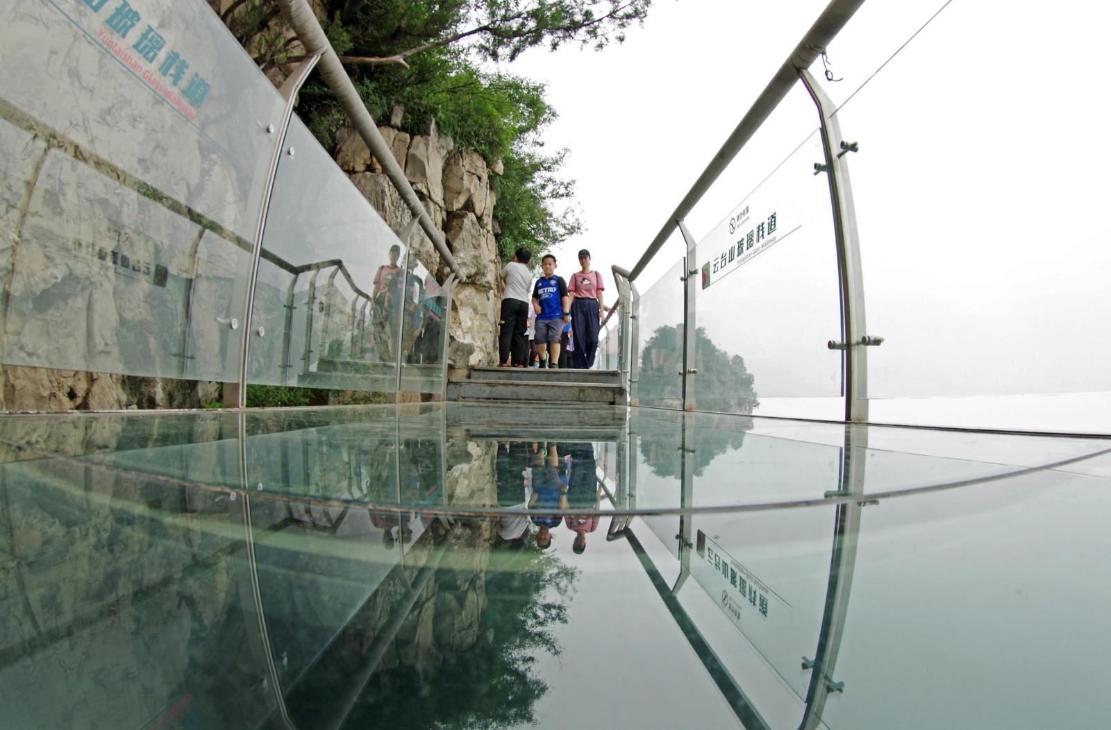 云台山玻璃栈道