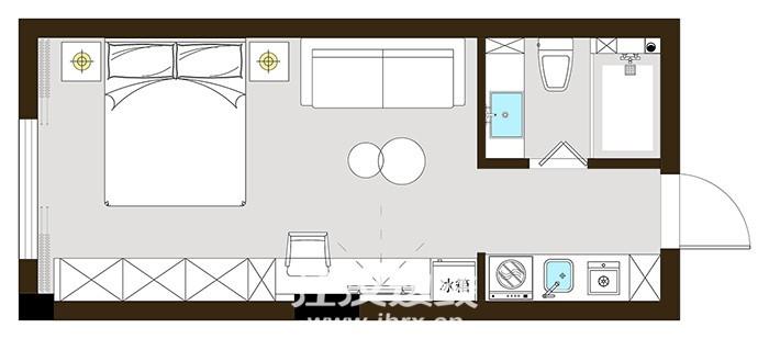 平面图纸:锦绣龙城公寓208 311-1-Model.jpg